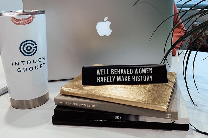 Image of a laptop and coffee mug