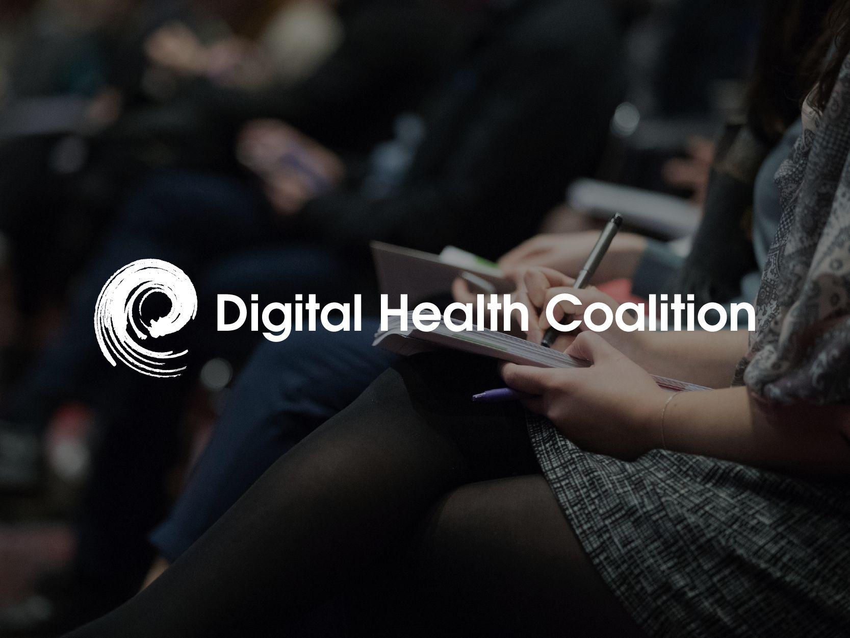 Photo of the Digital Health Coalition logo