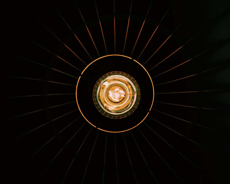 Image of round lights
