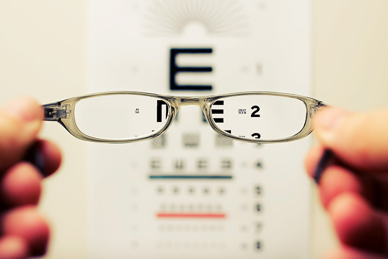 Image of letters that are used for eyesite test