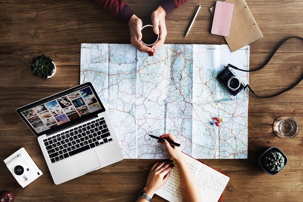 Image of trip planning