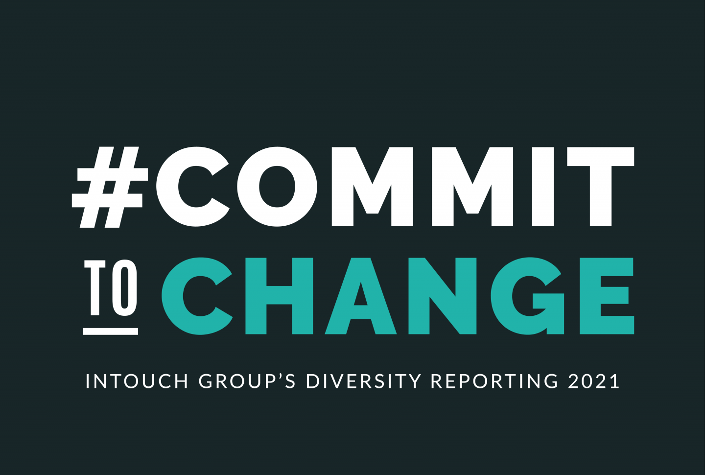 Graphic reads Commit to Change